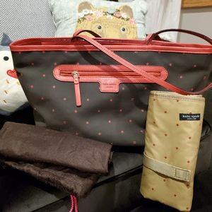 Kate Spade Larabee Dot Diaper Bag